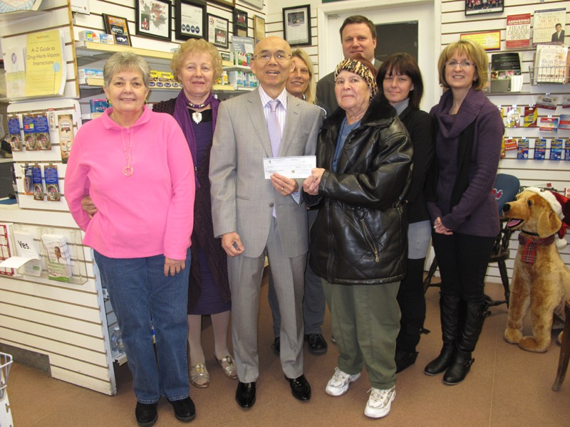 Donation to  Millbrook  Food  Share image 800